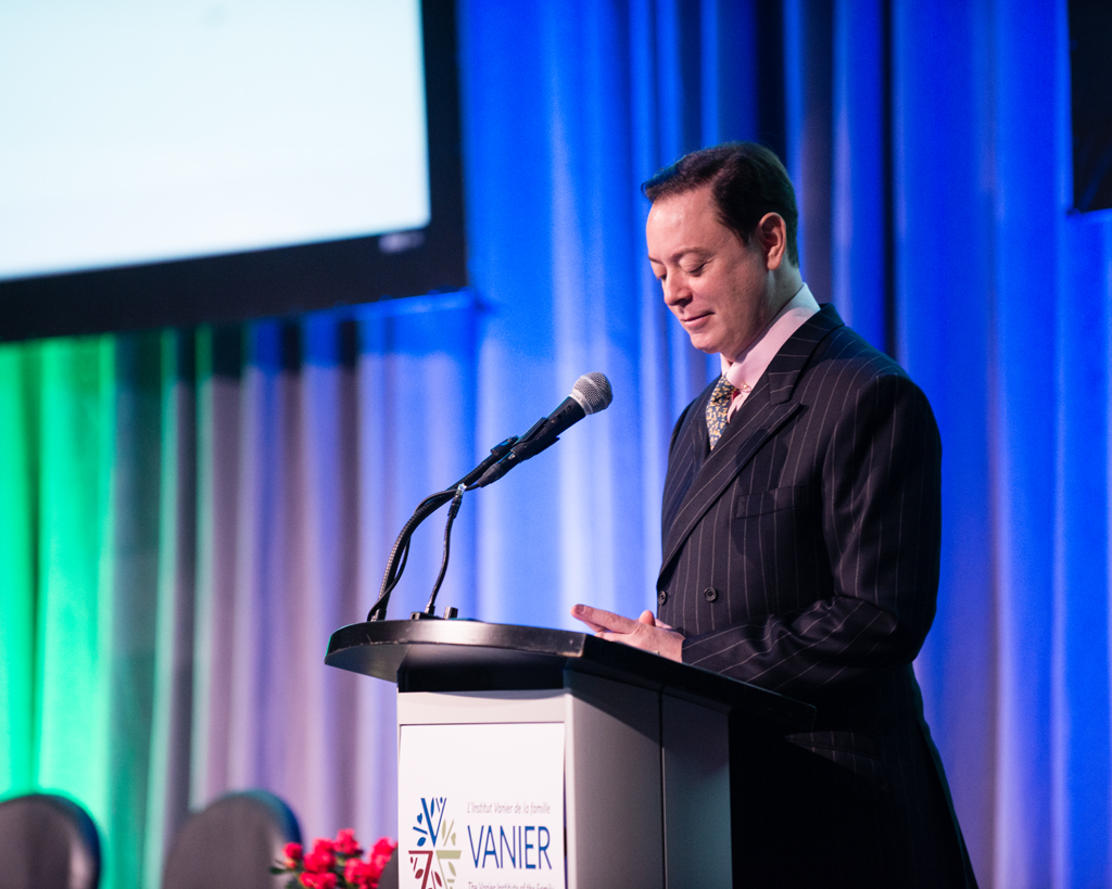 Andrew Solomon at the Families in Canada Conference 2015 / Andrew Solomon lors de la Conférence sur les familles au Canada 2015