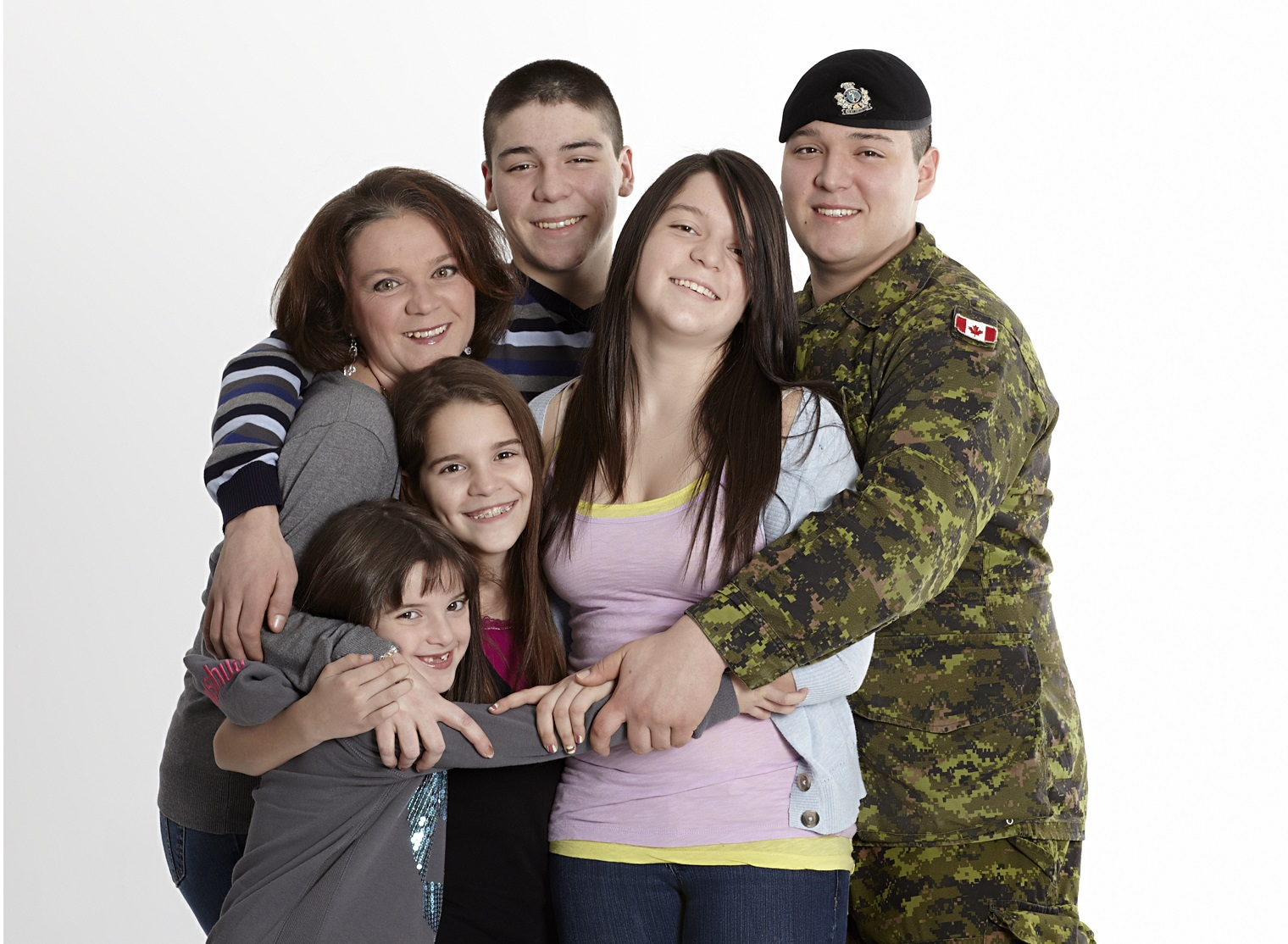 Canadian Military Family/Famille militaire canadienne